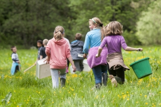 Schools and Staffordshire Wildlife Trust