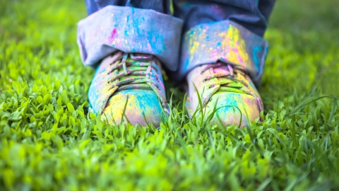Colour run