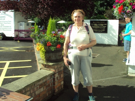 Julia Spight - The Gritstone Charity Walk 2015