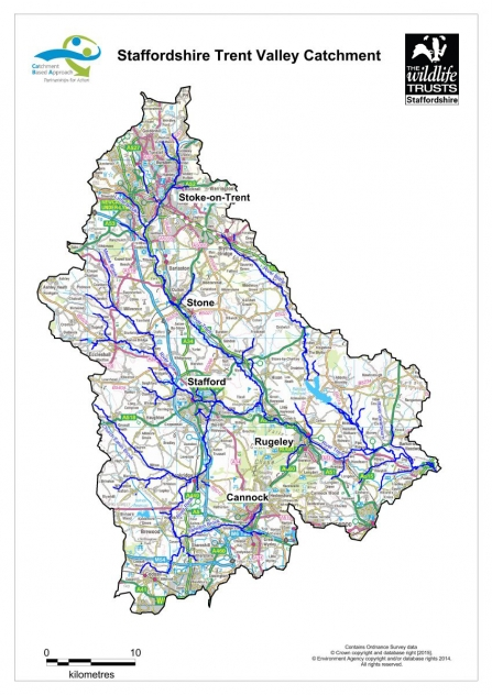 STV Catchment map