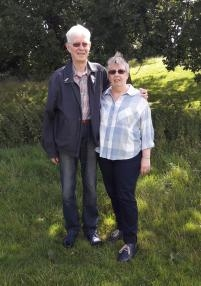 Elaine and Peter Plimmer, from Uttoxeter