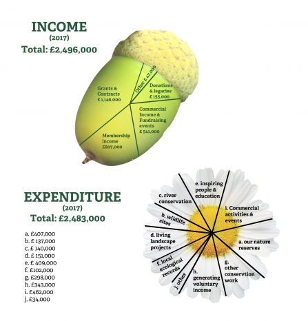our Income and expenditure