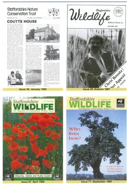 50 Years Wild | Staffordshire Wildlife Trust