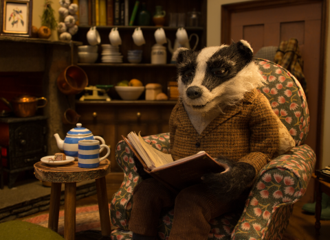 Wind in the Willows - badger